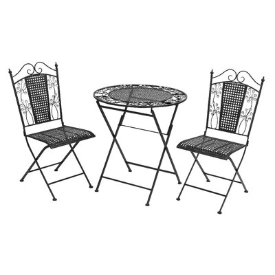 Bad credit financing Metal Bistro Set...