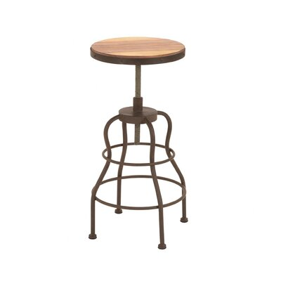 Vintage Inspire Metal Wood Bar Chair
