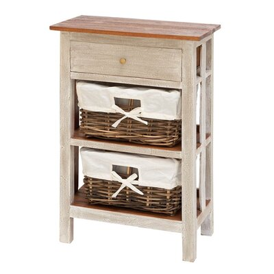 Financing Accent End Table Finish: Natural Wo...