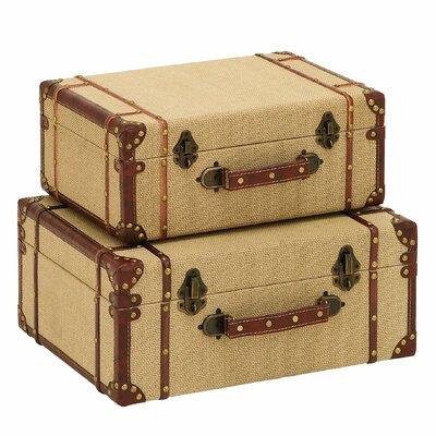 Woodland Imports Travel Suitcase 2 Piece Set at Sears.com