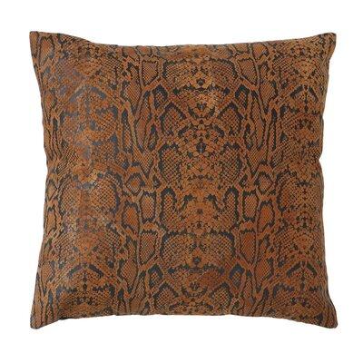 Woodland Imports Leather Decorative Pillow