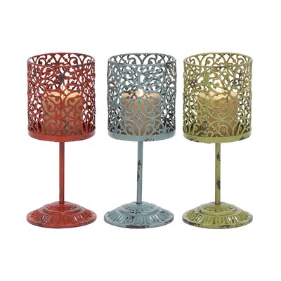 Woodland Imports Metal Lanterns 34900