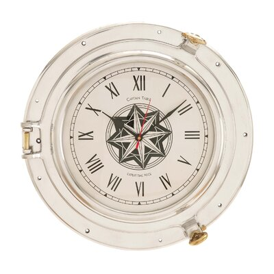 """16"""" Port Hole Wall Clock 28360"""