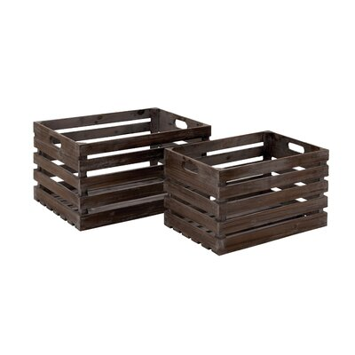 Wood 2 Piece Floor Wine Bottle Rack Set