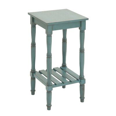 End Table II Finish: Blue