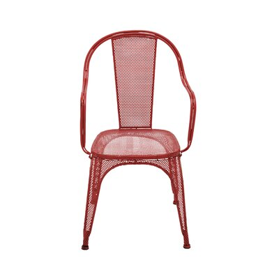 Arm Chair Frame Finish: Red