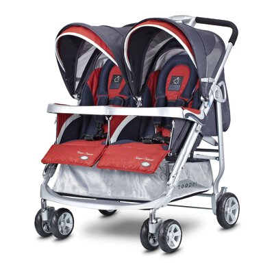 Zooper Tango Smart Double Stroller - Color: Ruby Storm at Sears.com