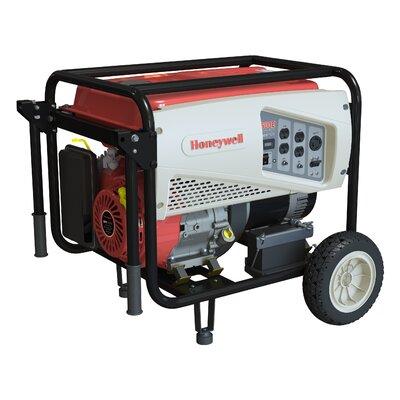 Honeywell Generators Portable 5,500 Watt Gasoline Generator with Electric Start at Sears.com