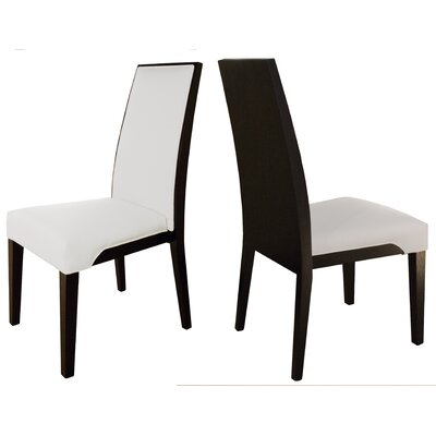Samba Side Chair Finish: White