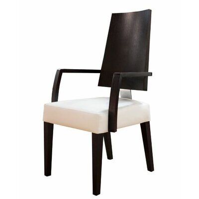 Rocco Arm Chair Finish: Black