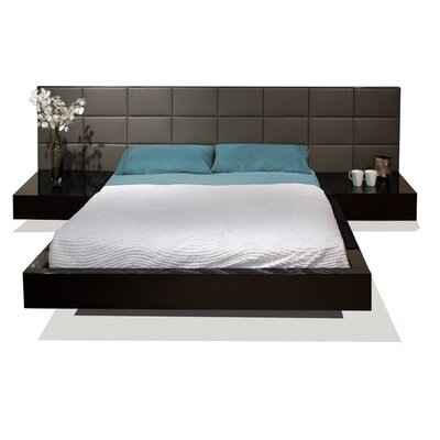 Sharelle Furnishings Sharon Platform Bed - Size: California King, Finish: Wenge at Sears.com