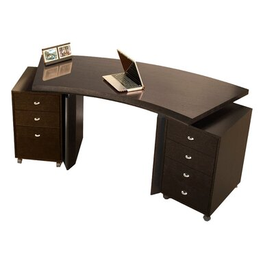 Longstanding Curved Executive Desk Product Photo