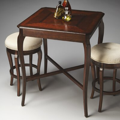 Dawson Counter Height Pub Table Color: Plantation Cherry