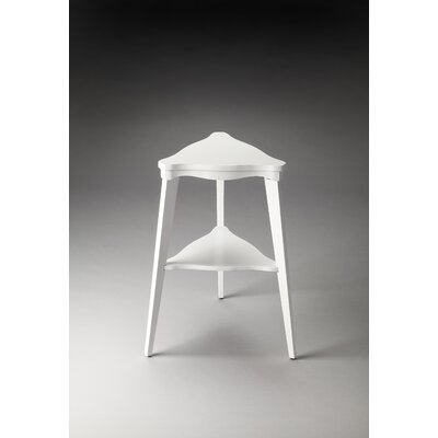 Heritage End Table Finish: Glossy White