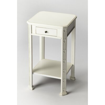 Moyer End Table Finish: Cottage White