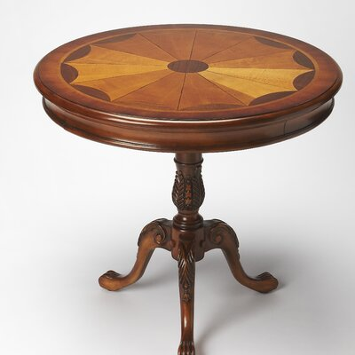 Carissa End Table Finish: Olive Ash Burl