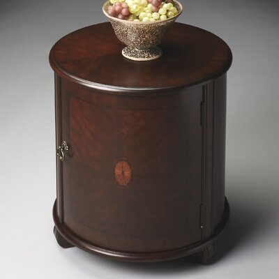 Lawrie End Table Color: Cherry