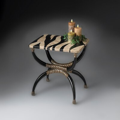Gordillo Zebra End Table