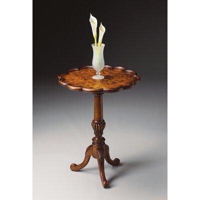 Cheap Butler Masterpiece Pedestal End Table in Olive Ash Burl (BTL2107)