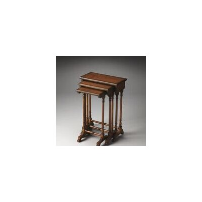 Dunham 3 Piece Nesting Tables Finish: Olive Ash Burl