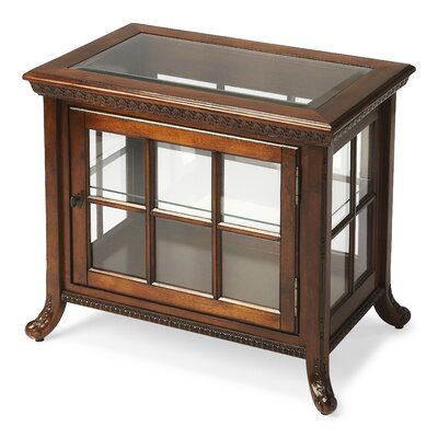 Plantation Cherry Chair Side Curio Cabinet