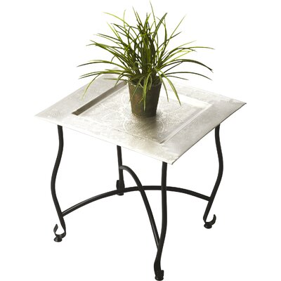 Metalworks End Table Finish: Black