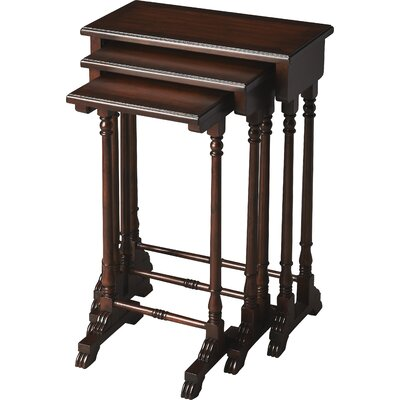 Dunham 3 Piece Nesting Tables Color: Plantation Cherry