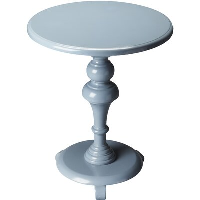 Plantation End Table Color: Glossy Wedgewood