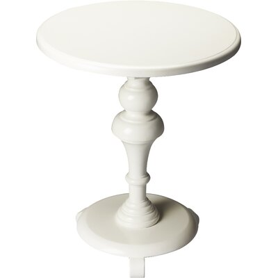Plantation End Table Color: Glossy White