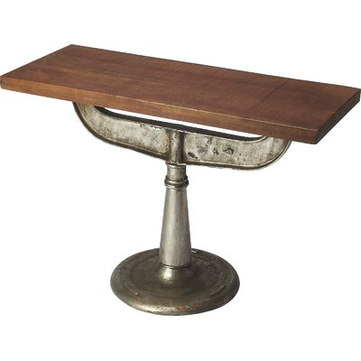 Industrial Chic Console Table