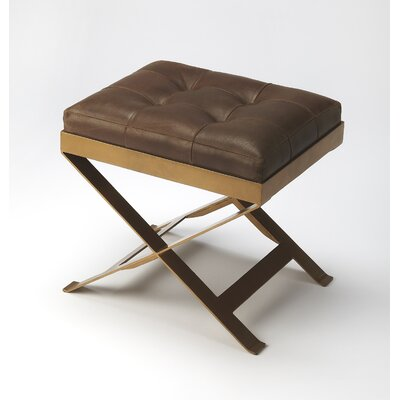 Rodrigo Leather Vanity Stool