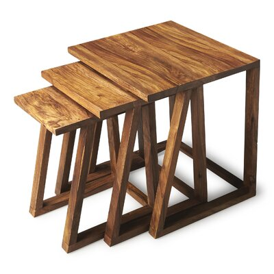 Woodview 3 Piece Nesting Tables