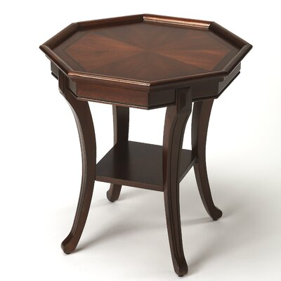 Kingston Try Table Color: Plantation Cherry