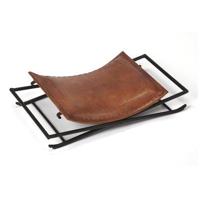 Melton Leather Stool