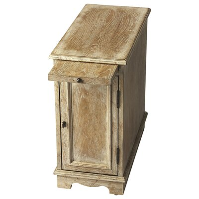 Winslow Chairside Chest Finish: White Wash