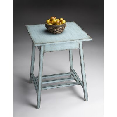 Cheap Butler Artist's Originals Accent Table in Distressed French Blue (BTL2664)