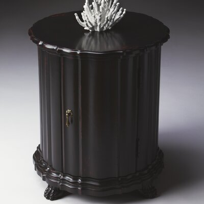 Cheap Butler Artist's Originals Drum Table in Distressed Plum Black (BTL2430)