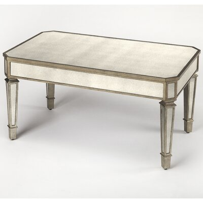 Dabria Mirrored Coffee Table