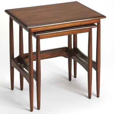 Cavitt Mid-Century Modern 2 Piece Nesting Tables