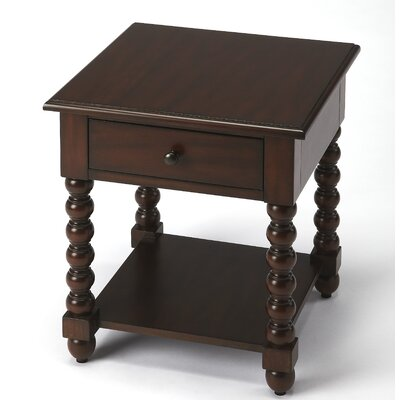 Smithtown Plantation End Table Finish: Brown