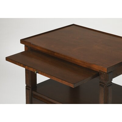 Agueda End Table Color: Cherry