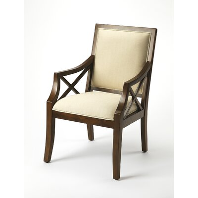 Rohit Harcourt Armchair Finish: Plantation Cherry