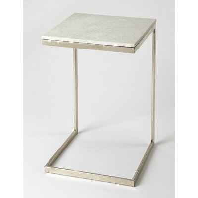 Runge End Table Finish: Nickle