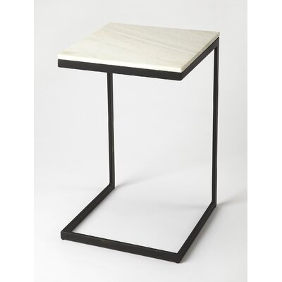 Runge End Table Finish: Black