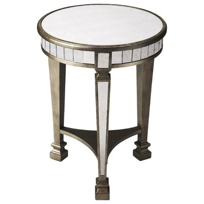 Garbo End Table with Storage Finish: Antique brass