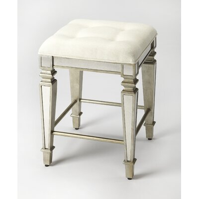Clarens Mirrored 26 Bar Stool