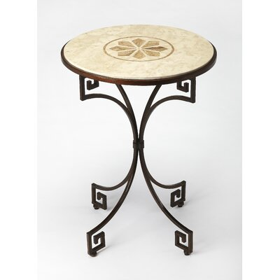 Deweese Fossil Stone End Table
