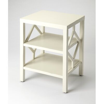 Numan End Table Color: White