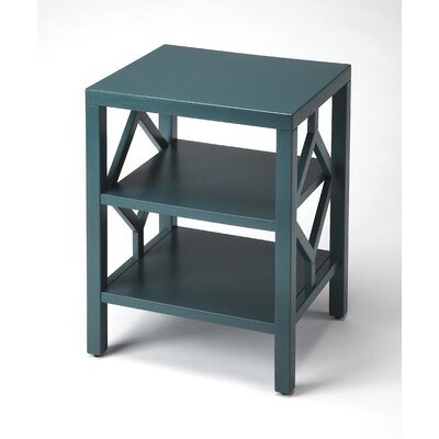 Numan End Table Color: Teal
