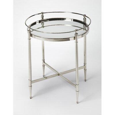 Sandridge Metal and Mirror End Table
